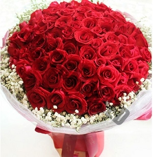 Online Red 99 Rose Bouquet Singapore