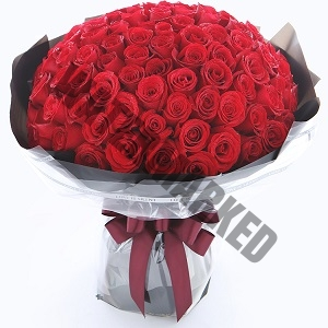 Send Red 99 Rose Bouquet Singapore