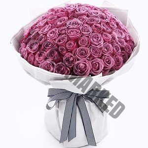 Buy Purple 99 Rose Bouquet Singapore