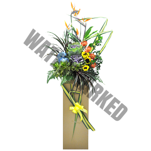 sales promo congratulations flowers
