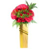 Send red flower stand for grand opening