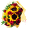 roses and sunflowers Hand Bouquet