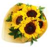 simply sunflowers Hand Bouquet