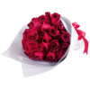 36 red roses Hand Bouquet Singapore