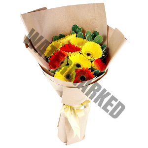 gerbera Hand Bouquet Singapore