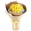 yellow roses Hand Bouquet Singapore
