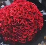Online red 99 roses Singapore bouquet cheap