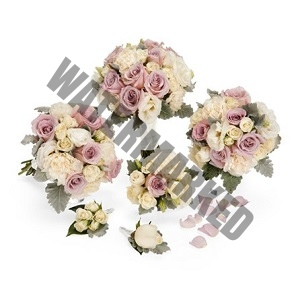 Buy pastel theme Bridal Bouquet bundle