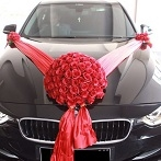 wedding car decoration package Singapore