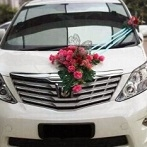 wedding car decoration package