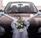 cheap bridal car decoration Singapore
