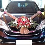 cheap bridal car decoration