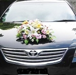 Cheap round Wedding Car Decoration promo
