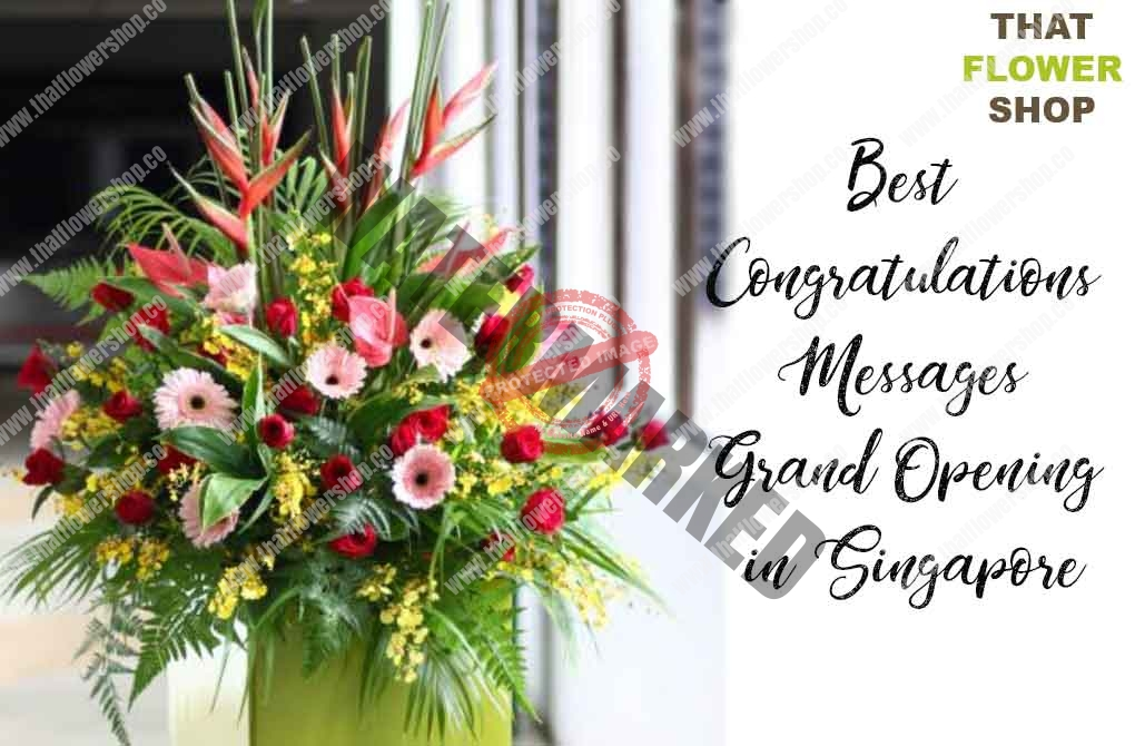 The Best Congratulations Messages for Grand Opening in Singapore