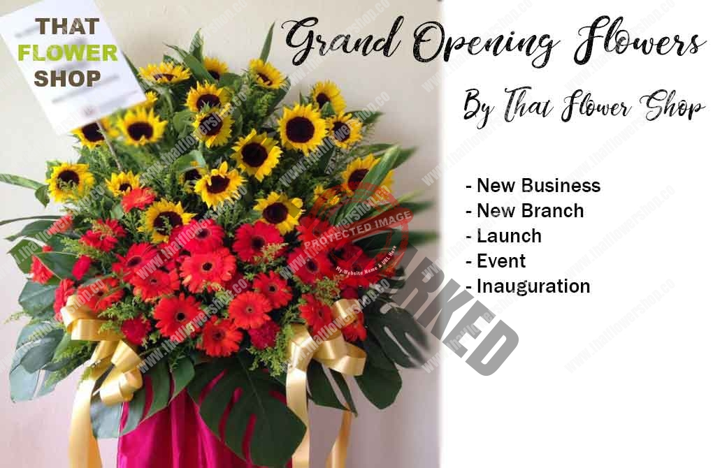 How to Afford Luxurious Grand Opening Flower Stand in Singapore?
