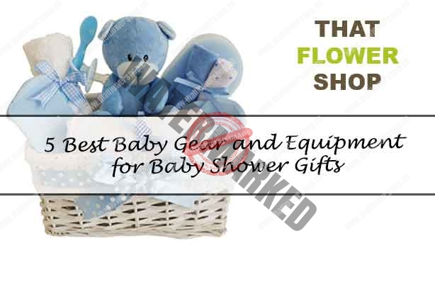 5 Best Baby Gear and Equipment for Baby Shower Gifts