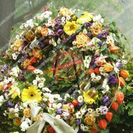 Why are there flowers at funerals?