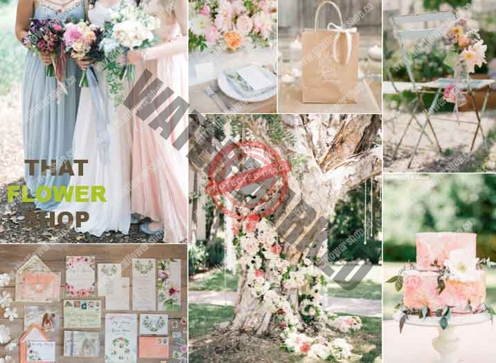 Checklist: Every Bouquet & Arrangement to Plan for Wedding Flower
