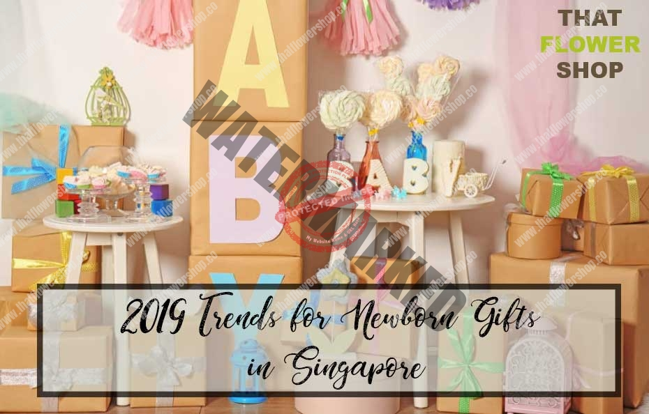 2019 Trends for Newborn Gifts in Singapore - That Flower Shop