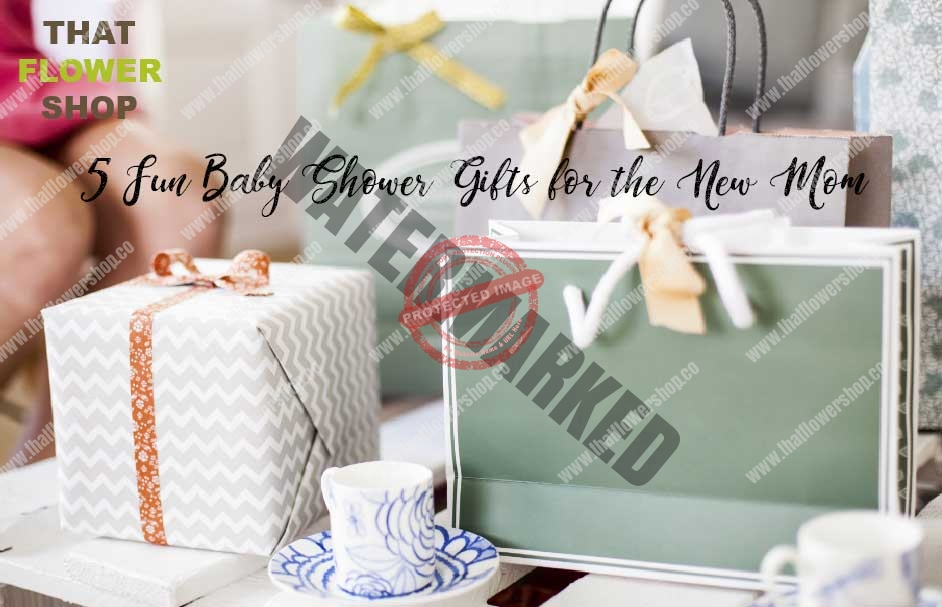 5 Fun Baby Shower Gifts for the New Mom