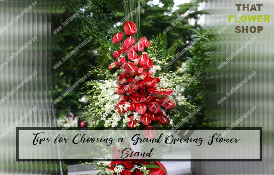Tips for Choosing a Grand Opening Flower Stand [Ultimate Guide]