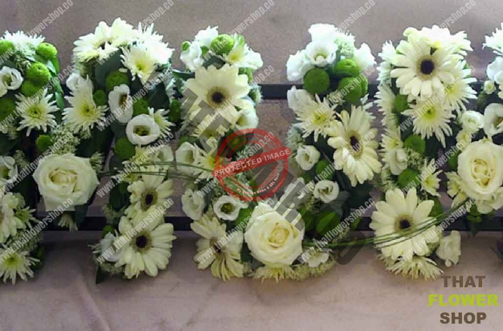 How To Make Funeral Flower Letters That Flower Shop