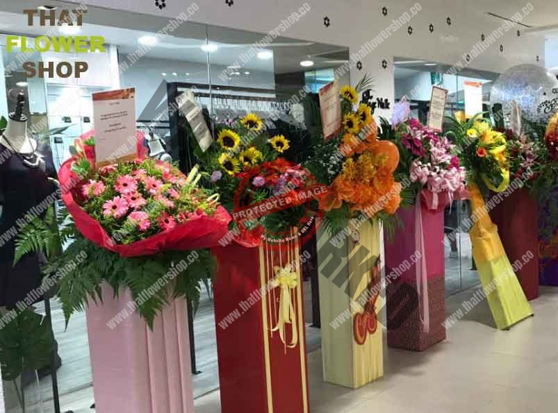 Types of Flowers Used in Grand Openings in Singapore
