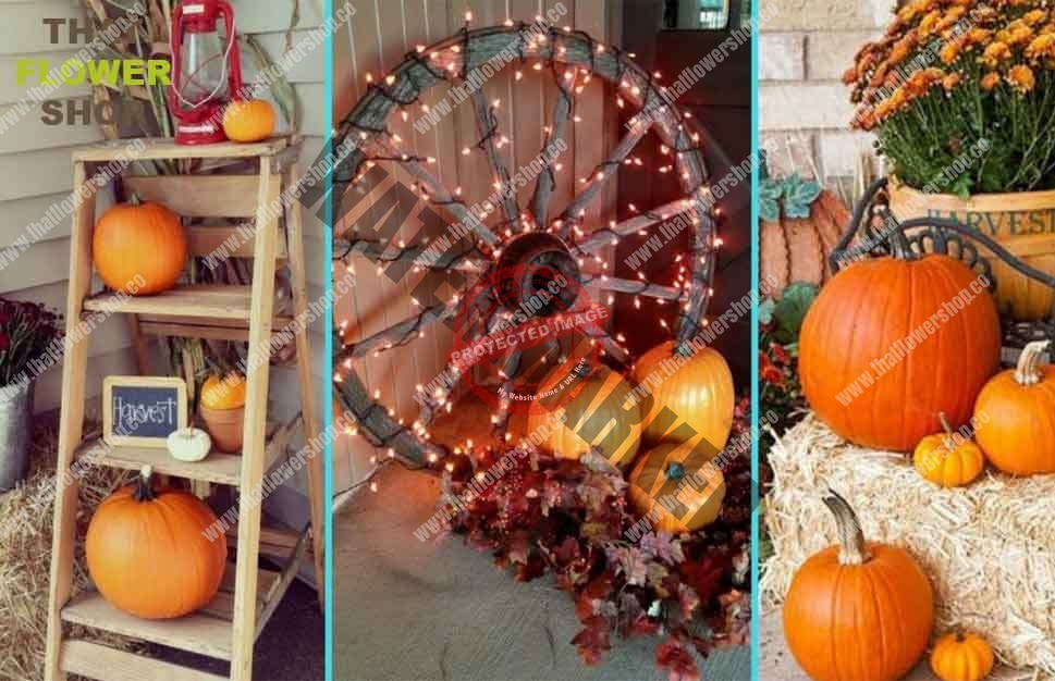 10 Ways to Use Pumpkins to Decorate Your House