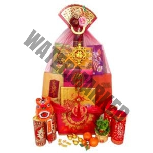 tall chinese new year hamper