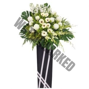 WS-17 MEMORIES FUNERAL FLOWER STAND