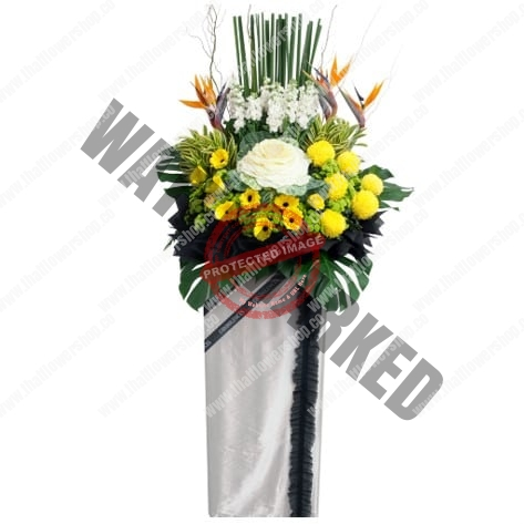 WS-16 LENITY FUNERAL FLOWER STAND