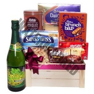 CH-06 APPRECIATED chocolate gift basket