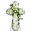 WS-22 REMEMBRANCE FUNERAL CROSS WREATH