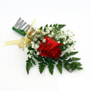 rose boutonniere corsage